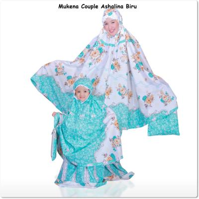 Mukena Couple Ashalina Biru